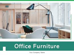 Office Furniture Conference Cupboard Cubicles Employees Monitors Interior