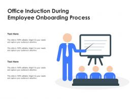 Office Induction During Employee Onboarding Process