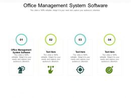 Office Management System Software Ppt Powerpoint Presentation Icon Visuals Cpb