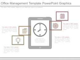 Office Management Template Powerpoint Graphics