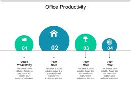 Office Productivity Ppt Powerpoint Presentation Icon Picture Cpb