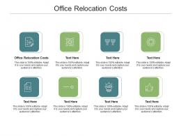 Office Relocation Costs Ppt Powerpoint Presentation Professional Structure Cpb