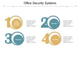 Office Security Systems Ppt Powerpoint Presentation File Templates Cpb