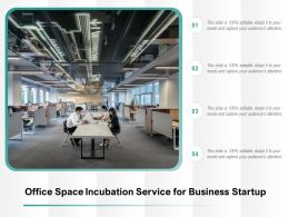 Office Space Incubation Service For Business Startup