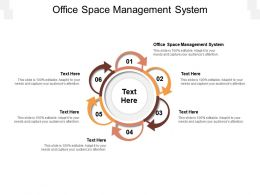 Office Space Management System Ppt Powerpoint Presentation Show Guidelines Cpb