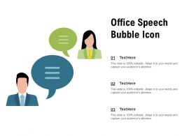 Office Speech Bubble Icon