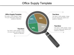 Office Supply Template Ppt Powerpoint Presentation Model Layout Cpb