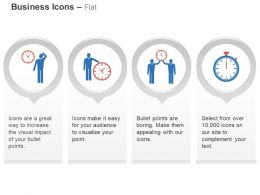 Office Time Management Business Team Working With Time Analysis Ppt Icons Graphics