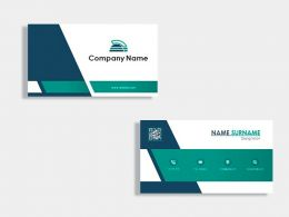 Official Business Card Design Template
