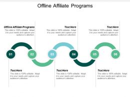 Offline Affiliate Programs Ppt Powerpoint Presentation Ideas Inspiration Cpb