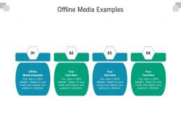 Offline Media Examples Ppt Powerpoint Presentation Ideas Structure Cpb