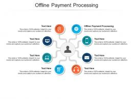 Offline Payment Processing Ppt Powerpoint Presentation Infographics Designs Download Cpb