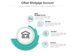 Offset Mortgage Account Ppt Powerpoint Presentation Styles Grid Cpb