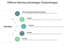 Offshore Banking Advantages Disadvantages Ppt Powerpoint Presentation Summary Rules Cpb