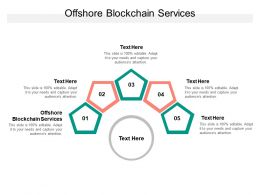 Offshore Blockchain Services Ppt Powerpoint Presentation Model Picture Cpb