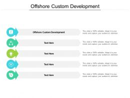 Offshore Custom Development Ppt Powerpoint Presentation Model Guidelines Cpb