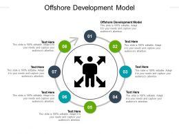 Offshore Development Model Ppt Powerpoint Presentation Infographics Slide Portrait Cpb