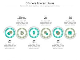 Offshore Interest Rates Ppt Powerpoint Presentation File Ideas Cpb