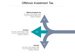 Offshore Investment Tax Ppt Powerpoint Presentation Model Background Designs