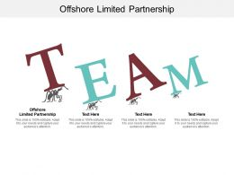 Offshore Limited Partnership Ppt Powerpoint Presentation Styles Backgrounds Cpb