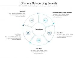 Offshore Outsourcing Benefits Ppt Powerpoint Presentation Outline Slides Cpb