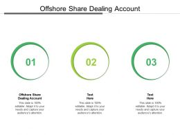 Offshore Share Dealing Account Ppt Powerpoint Presentation Inspiration Skills Cpb