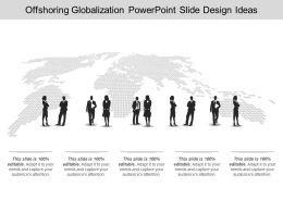 Offshoring Globalization Powerpoint Slide Design Ideas