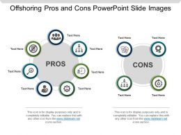 Offshoring Pros And Cons Powerpoint Slide Images