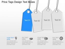 Oh Price Tags Design Text Boxes Powerpoint Template