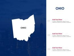 Ohio Powerpoint Presentation PPT Template