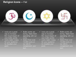 ohm_islamic_swastik_jweish_ppt_icons_graphics_Slide01