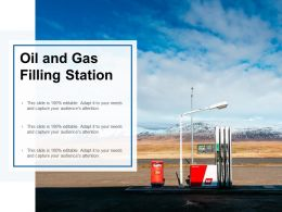 Oil And Gas Filling Station