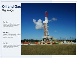 Oil And Gas Rig Image