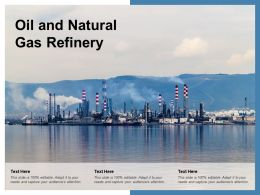 Oil And Natural Gas Refinery