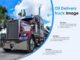 Oil Delivery Truck Image