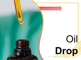 Oil Drop Individual Automatic Dollar Lubrication Cosmetic