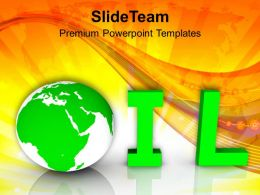 Oil World Industrial Petroleum Business PowerPoint Templates PPT Themes And Graphics 0213
