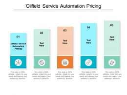 Oilfield Service Automation Pricing Ppt Powerpoint Presentation Icon Brochure Cpb