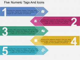 ok_five_numeric_tags_and_icons_flat_powerpoint_design_Slide01
