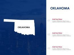 Oklahoma Powerpoint Presentation PPT Template