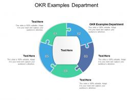 OKR Examples Department Ppt Powerpoint Presentation Show Summary Cpb