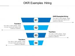 Okr Examples Hiring Ppt Powerpoint Presentation Summary Files Cpb