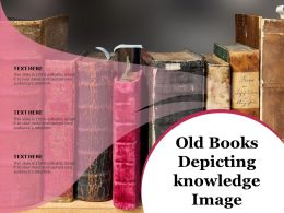 Old Books Depicting Knowledge Image