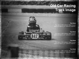 Old Car Racing Track Image