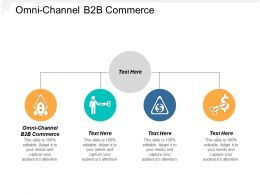 Omni Channel B2B Commerce Ppt Powerpoint Presentation Layouts Information Cpb