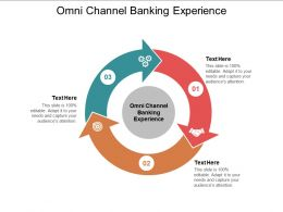 Omni Channel Banking Experience Ppt Powerpoint Presentation Infographics Layout Ideas Cpb