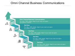 Omni Channel Business Communications Ppt Powerpoint Presentation Professional Deck Cpb