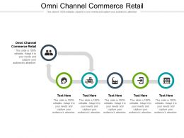 Omni Channel Commerce Retail Ppt Powerpoint Presentation Outline Mockup Cpb