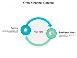Omni Channel Content Ppt Powerpoint Presentation Ideas Pictures Cpb