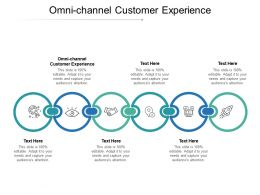 Omni Channel Customer Experience Ppt Powerpoint Presentation Portfolio Graphic Tips Cpb